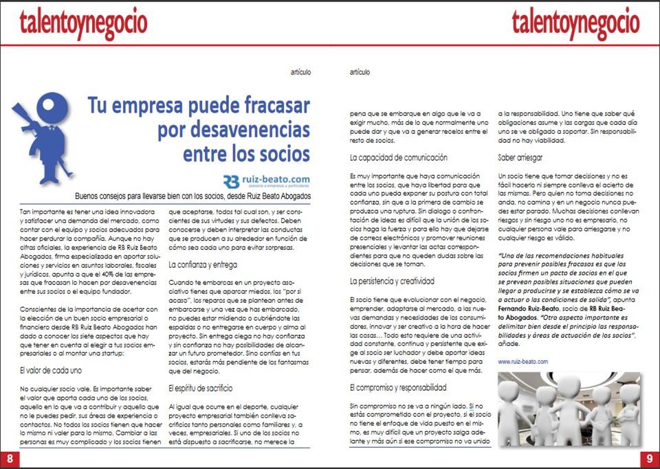 talento y negocio